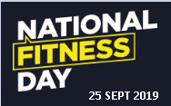 National Fitness Day - 25/9/19